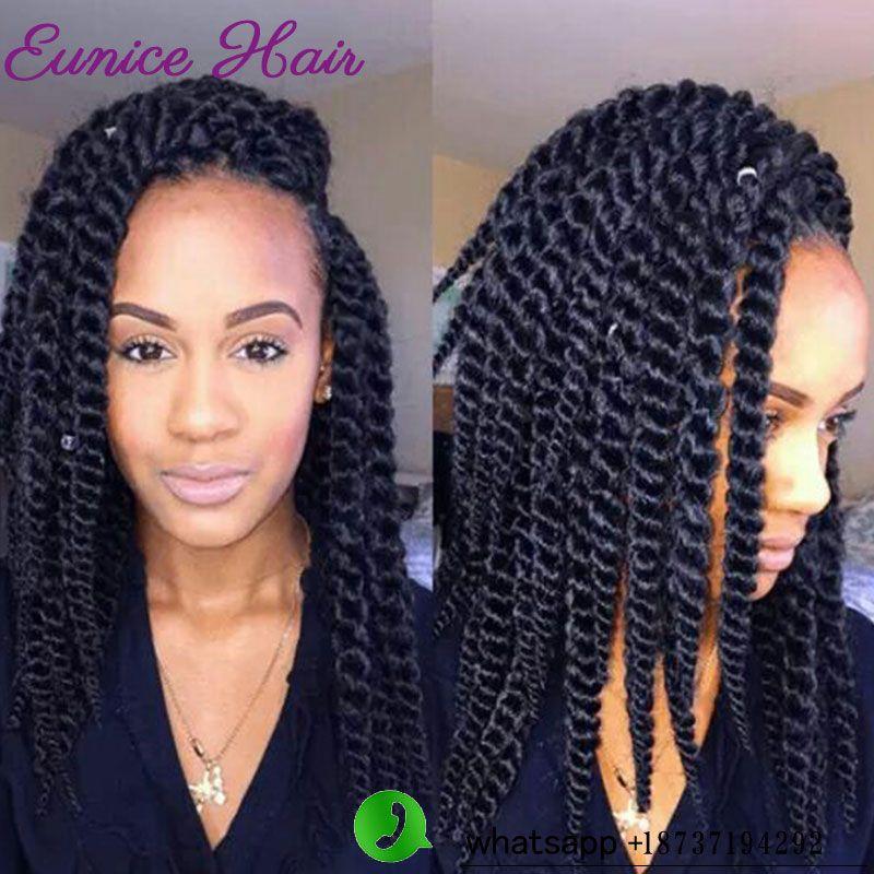 Crochet Braids Twist Extensiones De Pelo Havana Mambo Braiding Hair Synthetic Braid