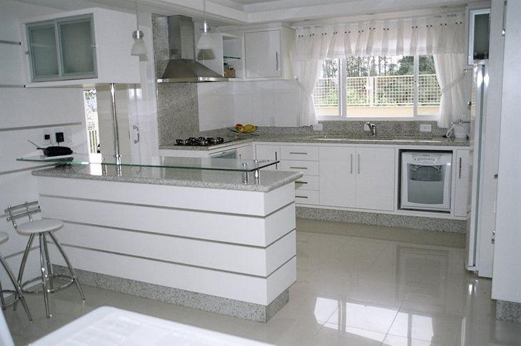 Cozinha Branca Granito Branco Siena Granito Para Cozinha