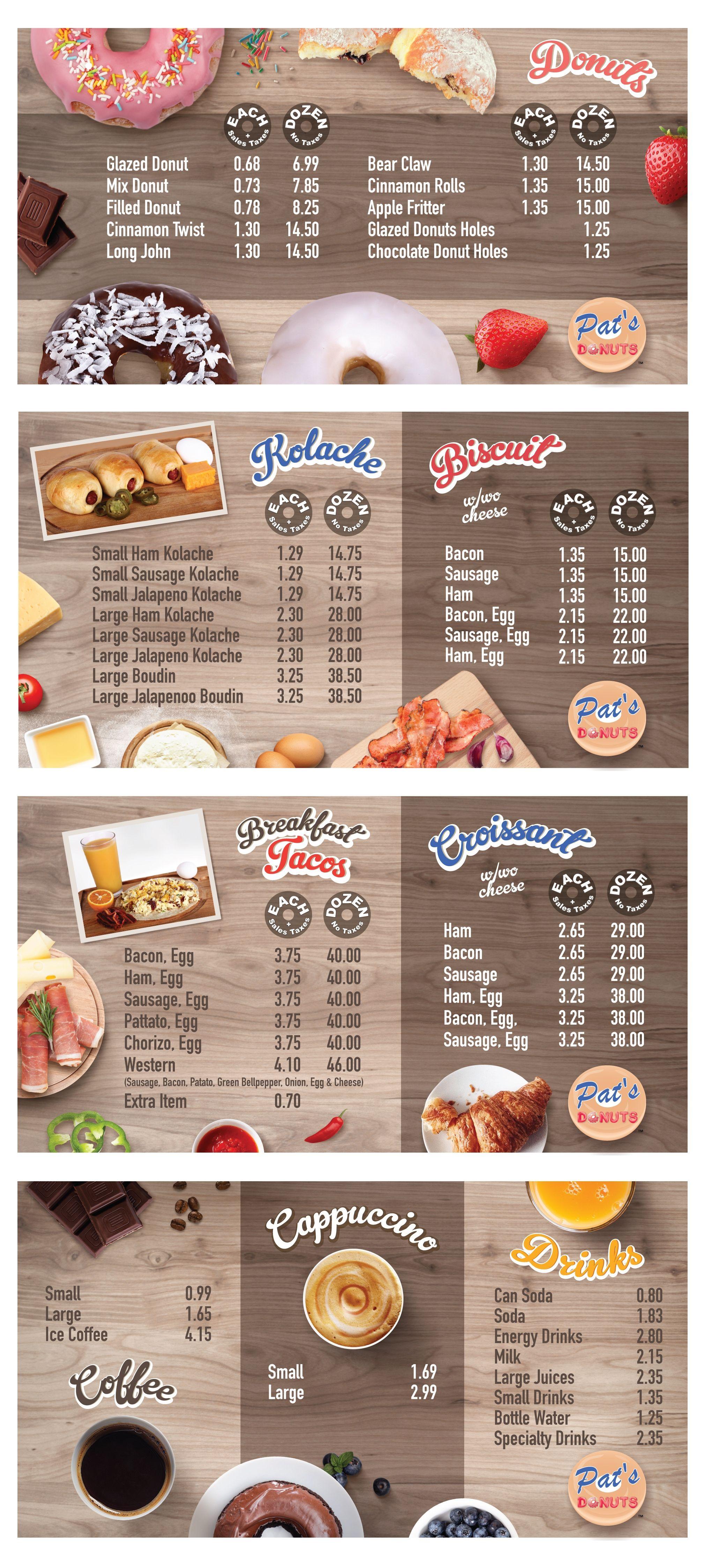 designs donut shop needs new menu design menu contest by alina s