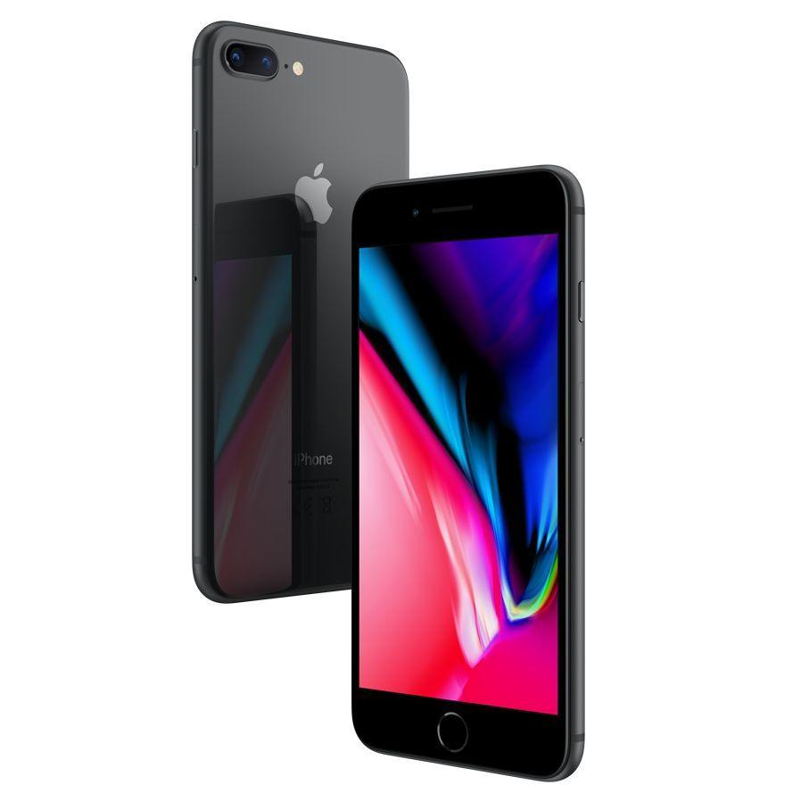 Apple Iphone 8 Plus Ios 11 5 5 4g Lte Sim Free 64gb Space Grey Apple Iphone Iphone Iphone 8