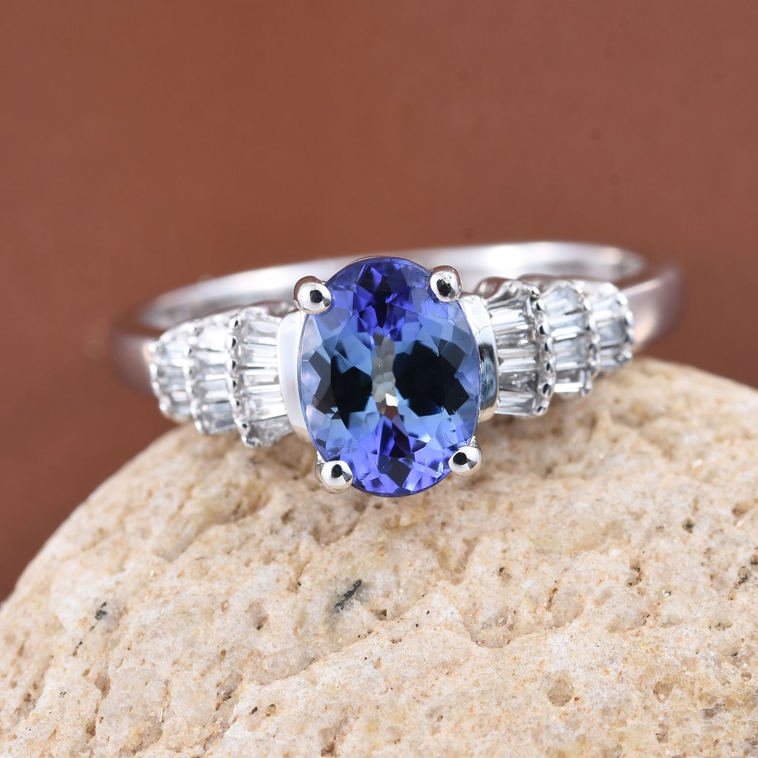pear ebay tanzanite peacock itm cttw mm