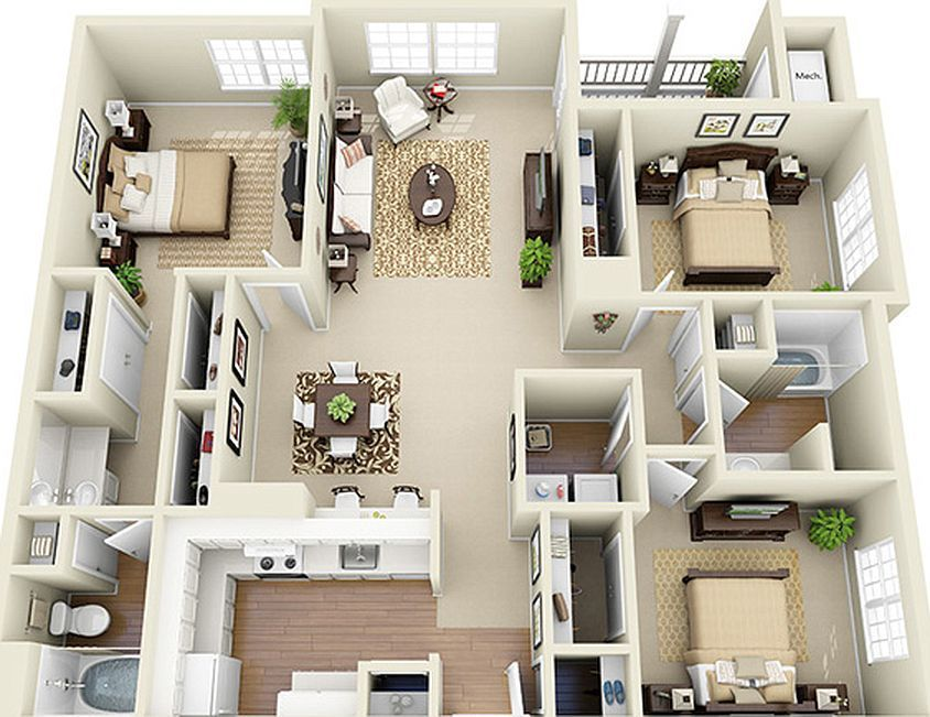 Can You Get An Apartment At 18 In Georgia Glen Park Apartment Homes Apartment Rentals Smyrna Ga Zillow Apartmentfloorplans Glen Park Apartmen In 2020 House Layout Plans Small House Plans Sims House Plans