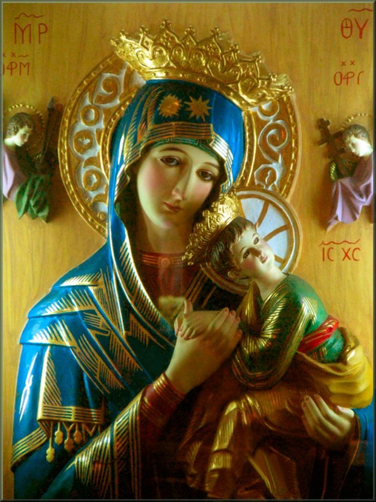 prayer to our lady of perpetual help for financial aid - classic