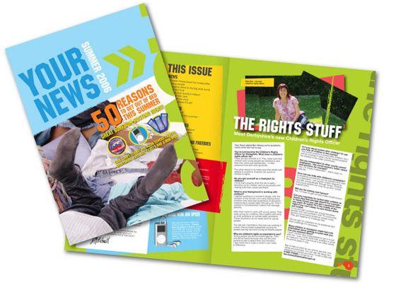 Newsletter Layout Design | Newsletter Inspiration Board ...