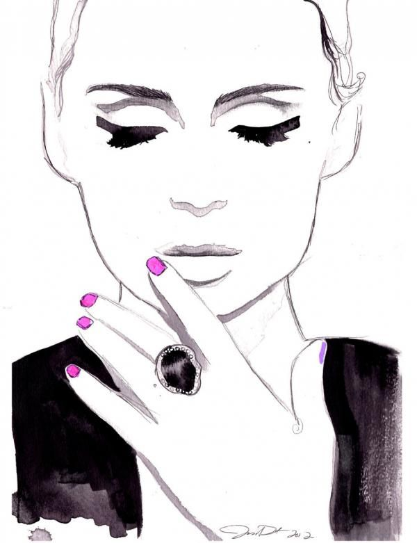 fashion illustrations - Buscar con Google