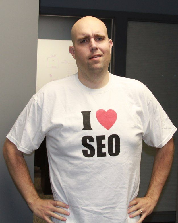 Deep down....I bet ShoeMoney still loves SEO despite what his face says here!