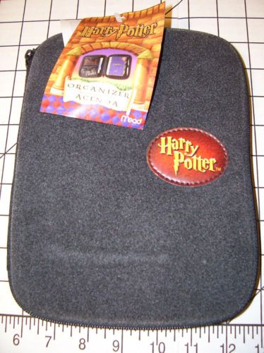 Harry Potter Gray HP Mead Organizer Agenda Case School Unused RARE