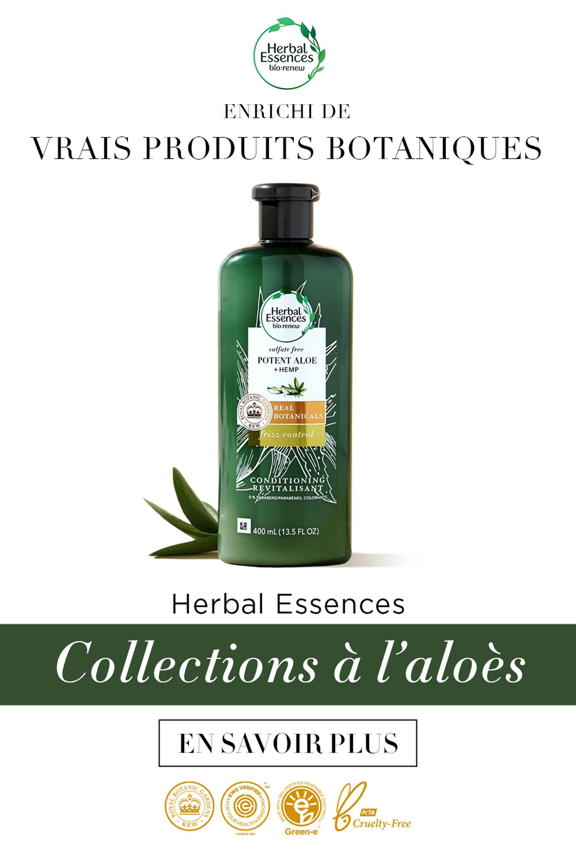 Herbal Essences Nouvelle collection à l'aloès in 2020