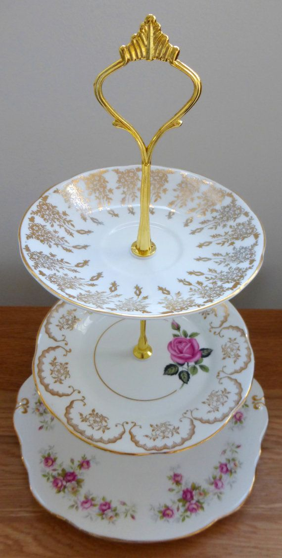 Beautiful Vintage China Plate Stand by YouAreMySunshineUK on Etsy £20.00 & Beautiful Vintage China Plate Stand by YouAreMySunshineUK on Etsy ...