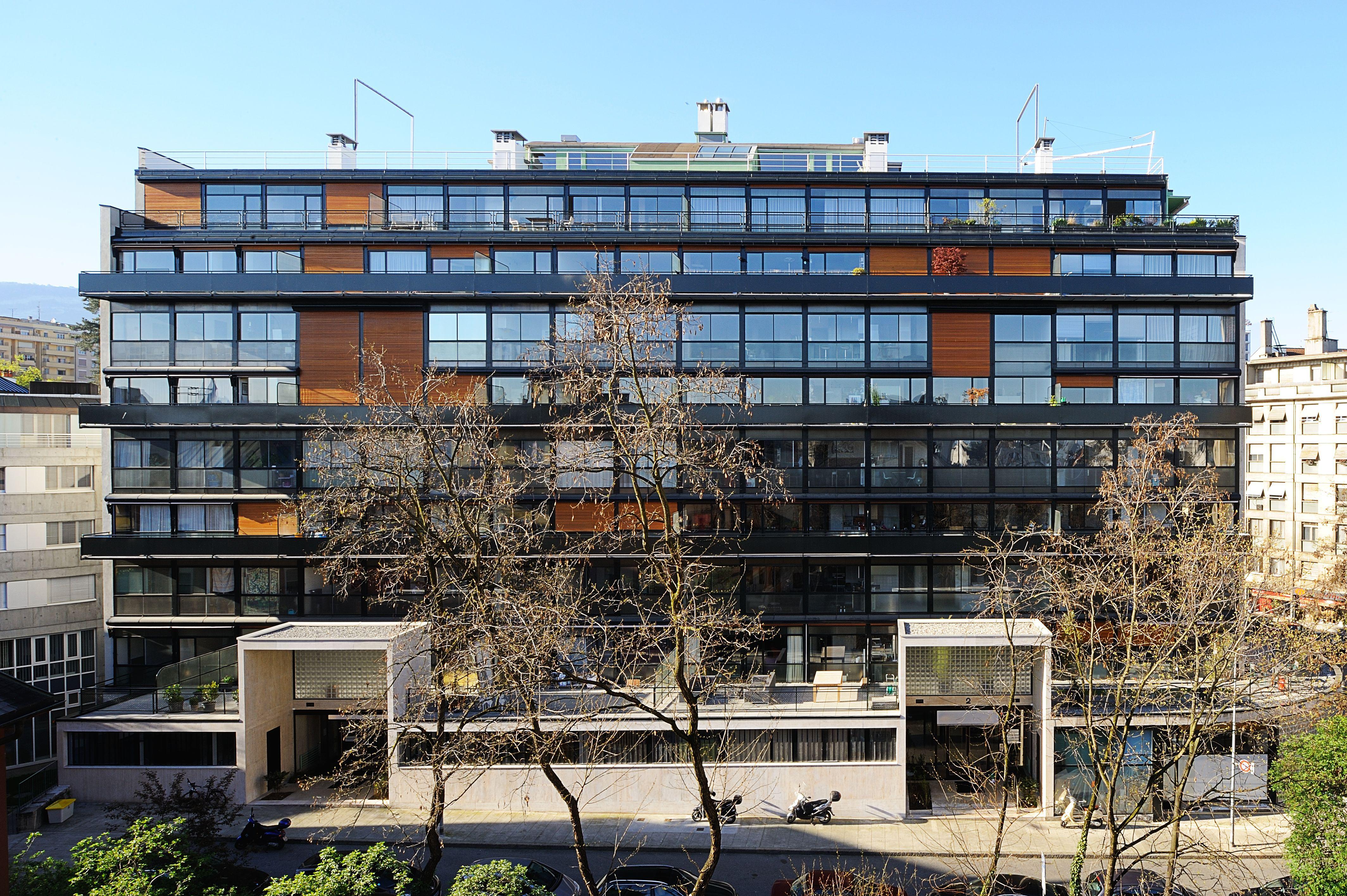 Le Corbusier Pierre Jeanneret Immeuble Clarte Geneve 1930 1932 Eaux Vives Geneve Le Corbusier Architecture Architecture Project
