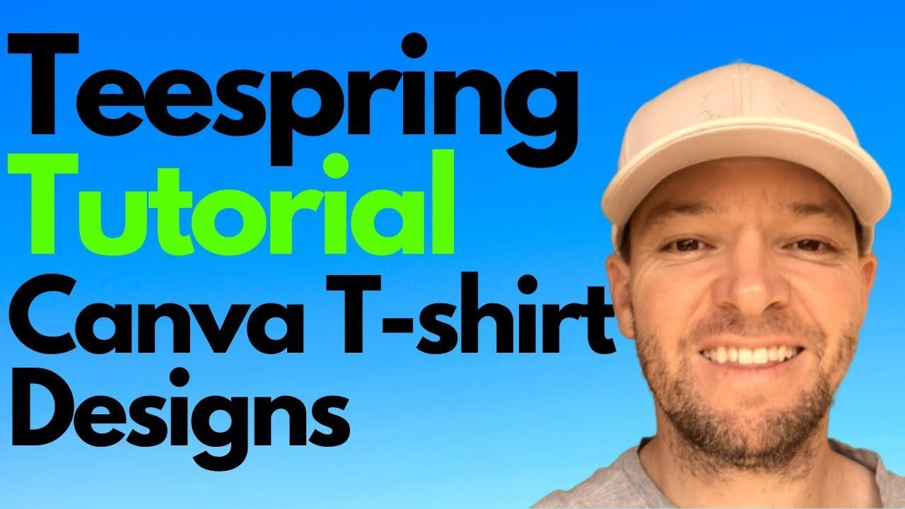 Use Canva For Beginners Tshirt Design