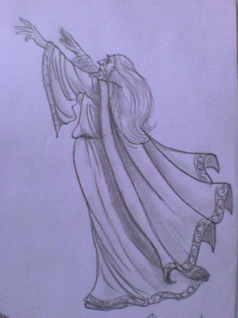 Saruman summons the winds by smeagolisme.deviantart.com on @deviantART