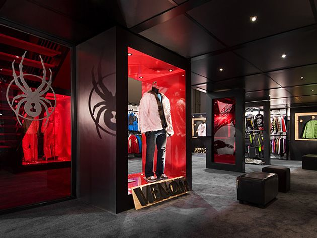 Exhibition Booth Sia : Spyder active sports trade show exhibit booth at sia by