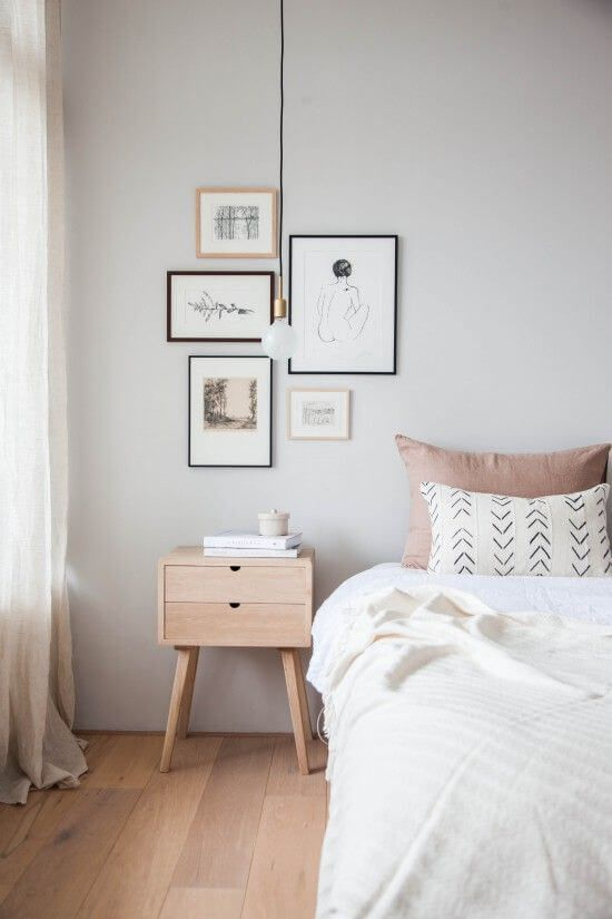 Feminine minimalist bedroom design 3 | Inspira Spaces