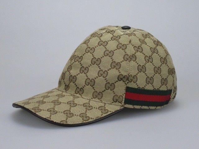 Gucci original GG canvas baseball hat - We love Italian famous brands - BID  Till U DROP! www.ubidfashion.com 3e4d2385c3a