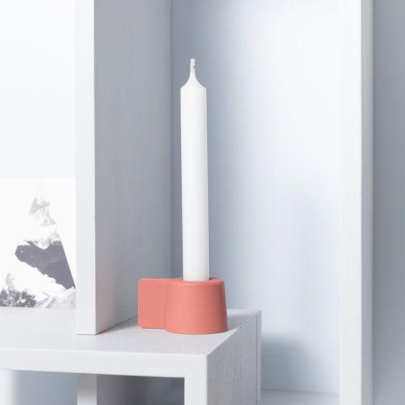 SILLY / Silikon / Doppelseitig Kerzenhalter / Puik Kunst / Amsterdam/hitzebeständig/Silikon/Kerze/Kerzenhalter/Teelicht/Geschenk/present