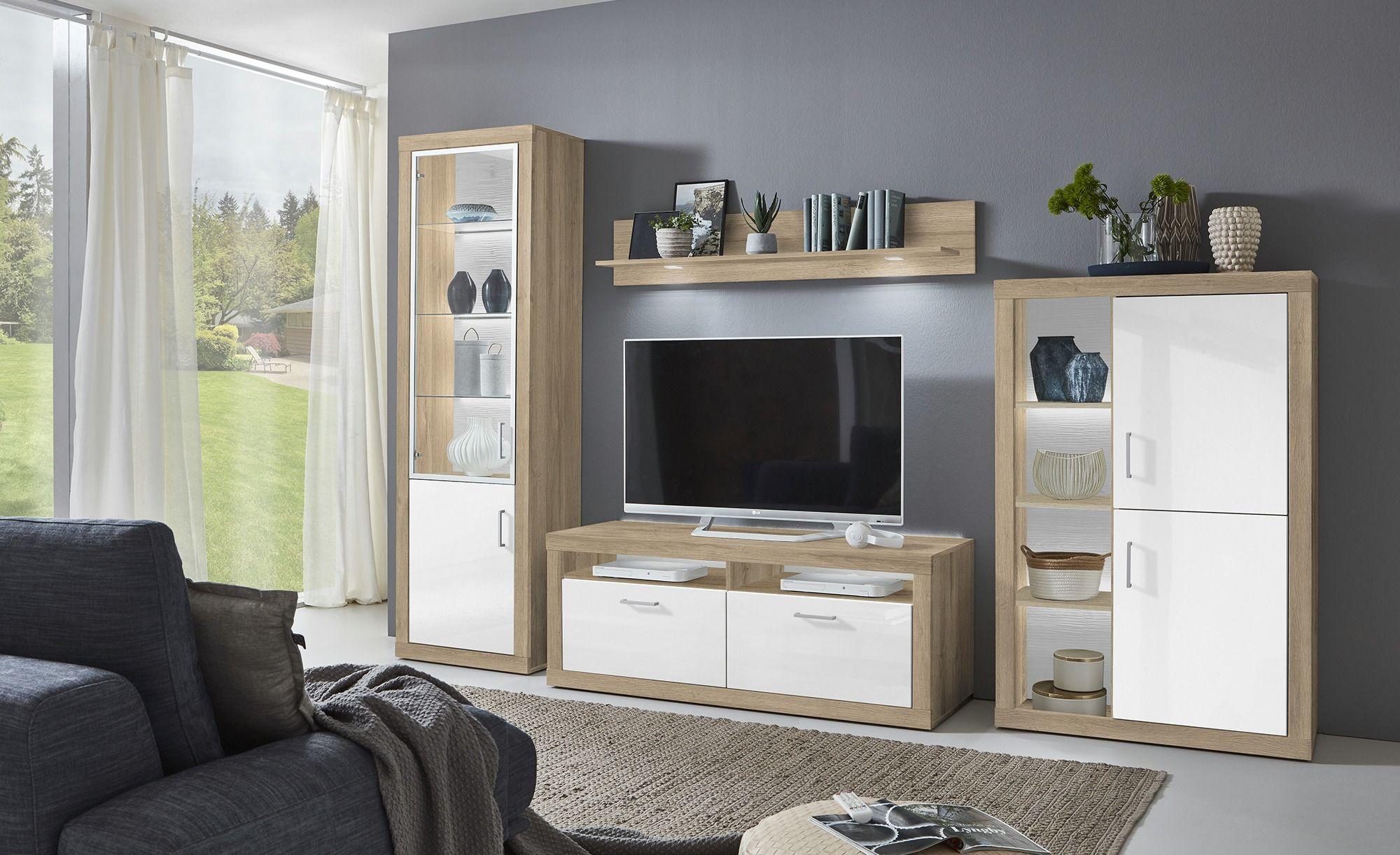 Tv Lowboard Schwarz Matt Wohnzimmermobel Massiv Modern