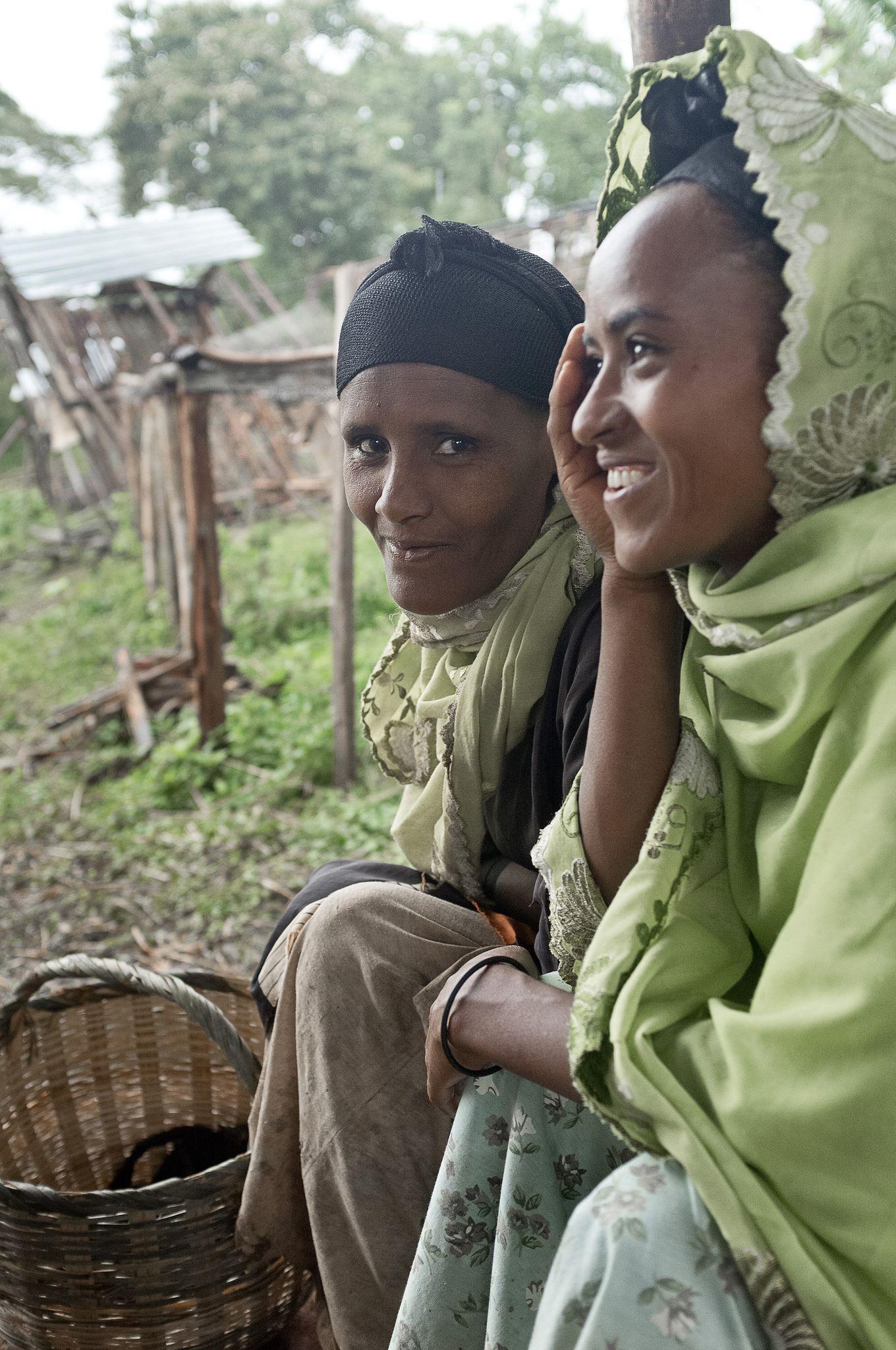 The coffee women . Ethiopia