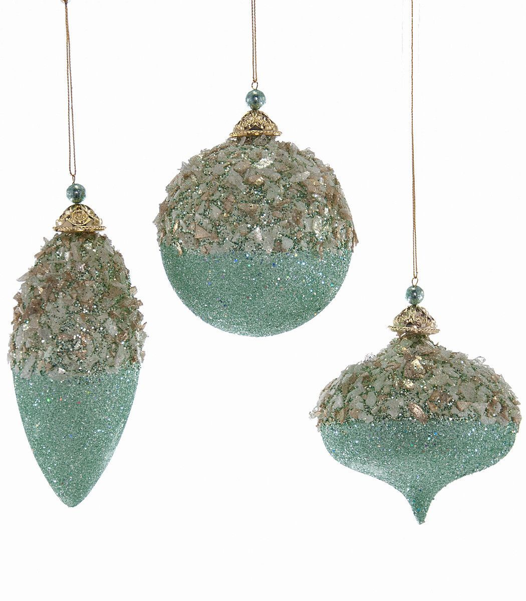 Fairy christmas ornaments - Katherine S Collection Celestial Fairy Christmas Collection Twelve Assorted 100mm Glittered Turquoise Ornaments Free Ship