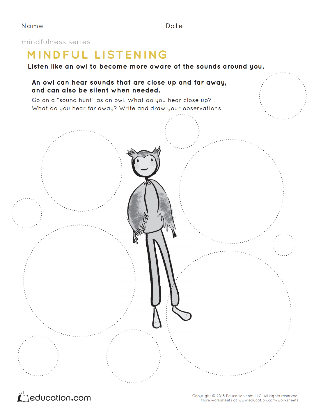 Mindfulness Mindful Listening