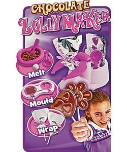 Chocolate Lolly Maker Lily Xmas Chocolate Lollies Toy