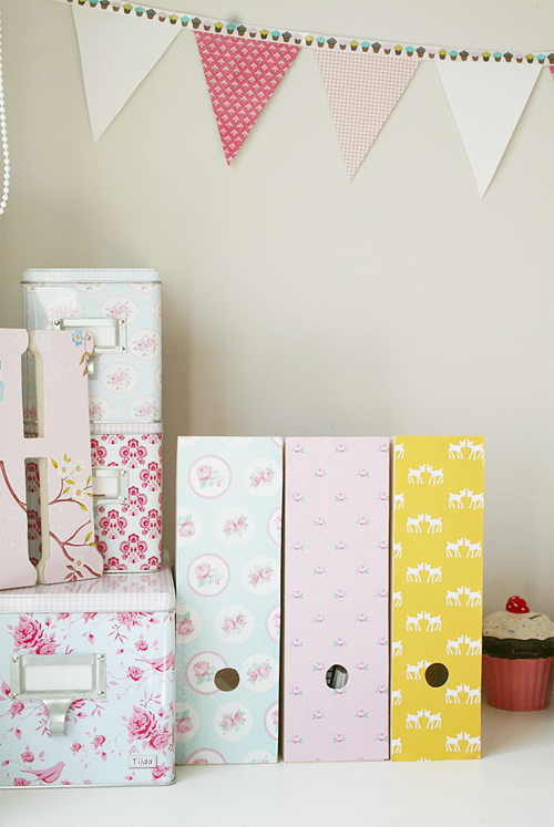Paper Craft Inspiration and Pastel Style from Huesby Living