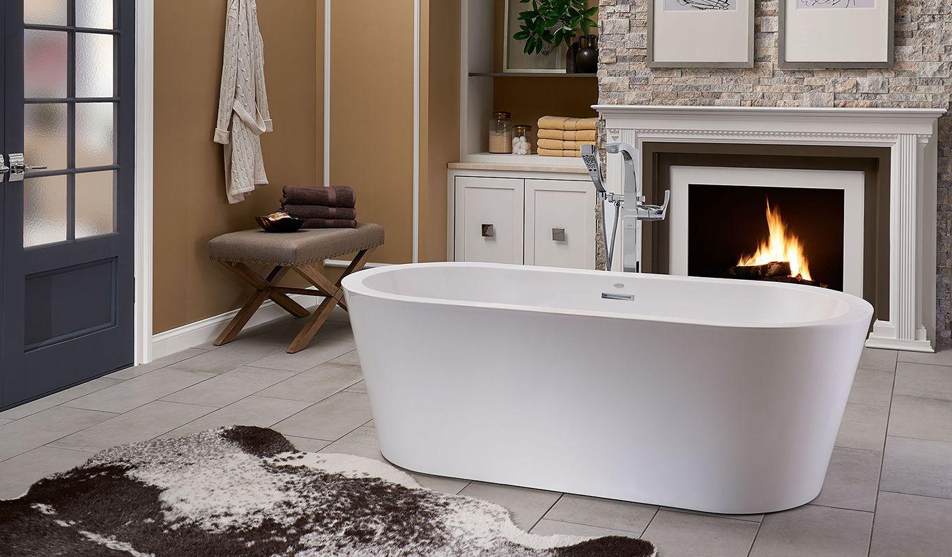 Celeste™ Freestanding Bath | Freestanding bath, Jacuzzi and Bath