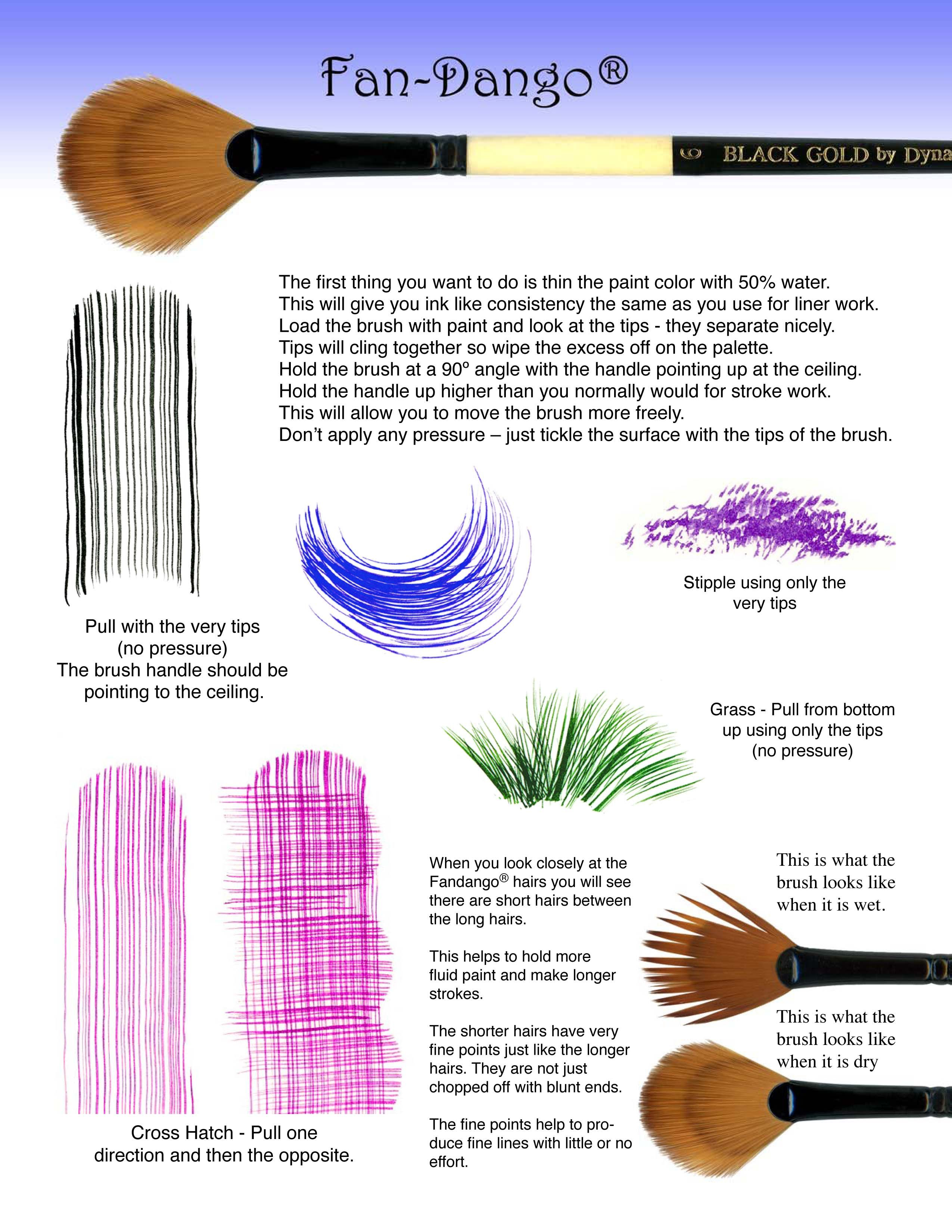 Really Good Site For Brush Strokes And Demos