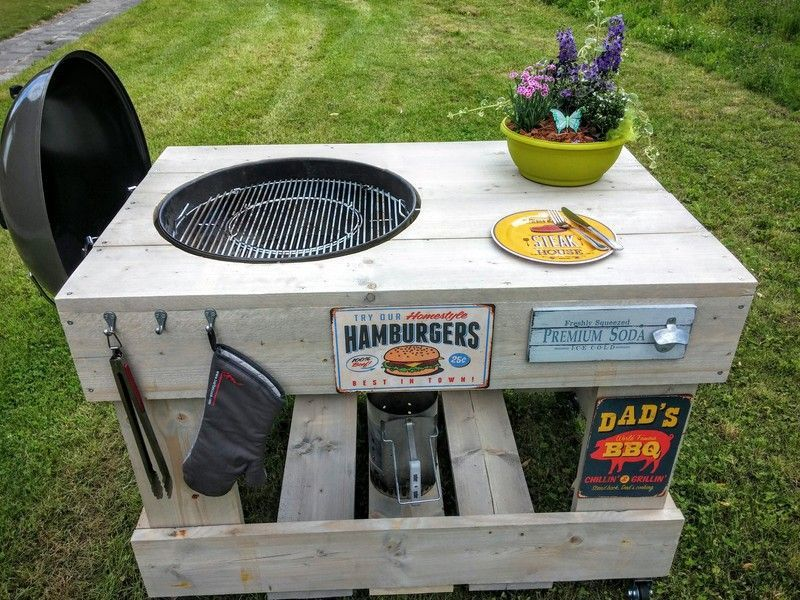 Super Image result for steigerhout bbq tafel (With images) | Bbq table YN-64