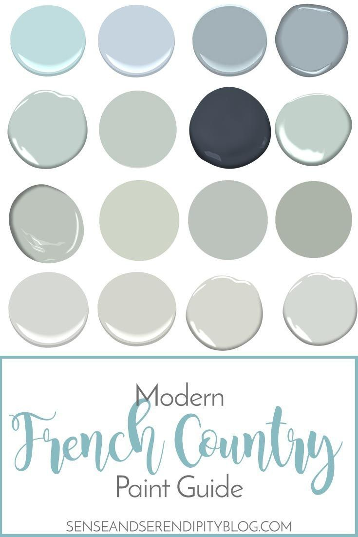 Photo of Modern French Country Paint Guide | Sense & Serendipity