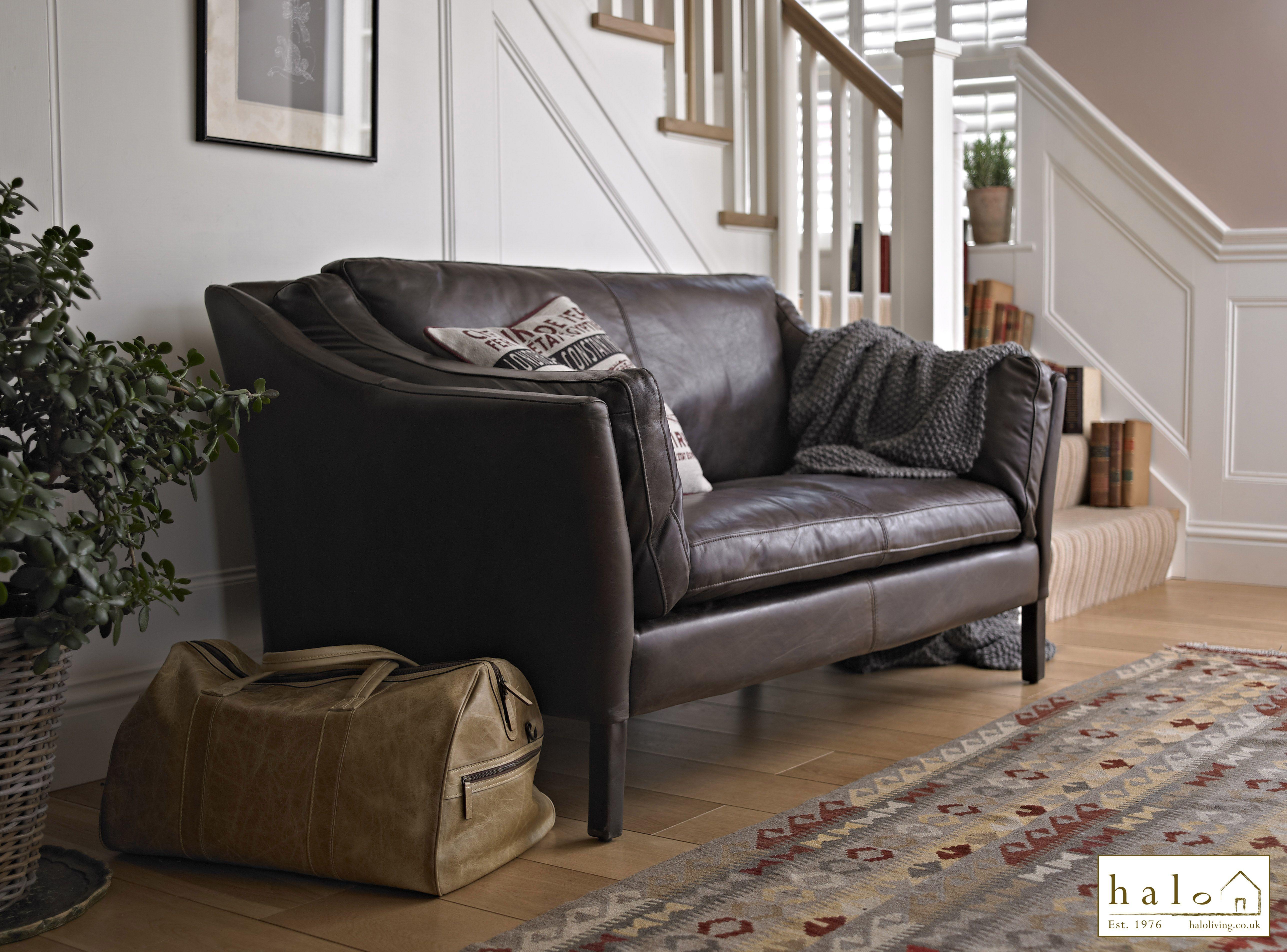 Halo Castro leather sofa HALO LIVING Pinterest
