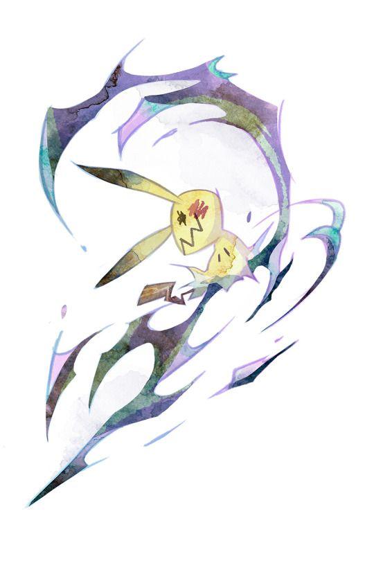 Mimikyu, artwork by Botjira Gaming Pokémon, Mimikyu, Ghost pokemon