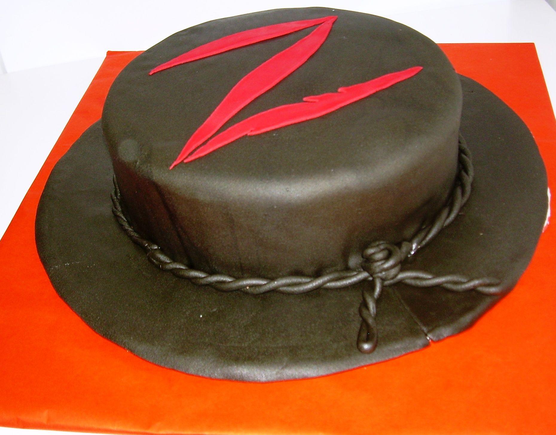 Torta Infantil Del Zorro