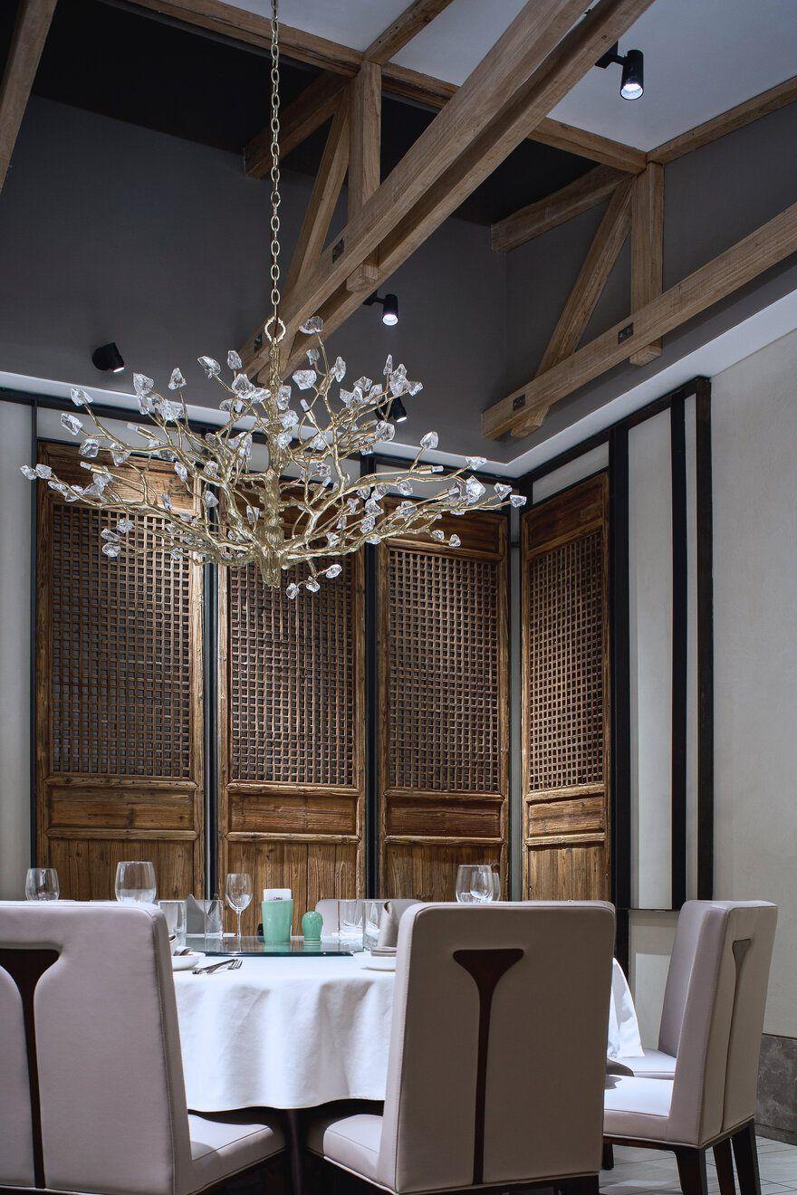 Roasting Duck Restaurant Of Shangyung Town Beijing Brick Restaurant House Outer Design Restaurant Design
