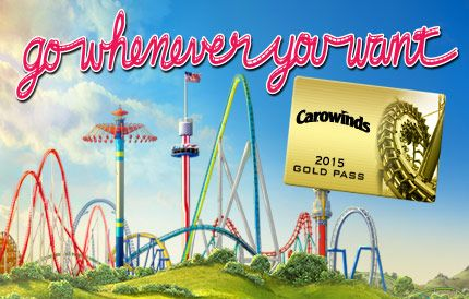 The new Carowinds Pre-K Pass is free for kids three to five years old and includes unlimited visits for the entire season, including Carolina Harbor waterpark, The Great Pumpkin Fest and WinterFest.