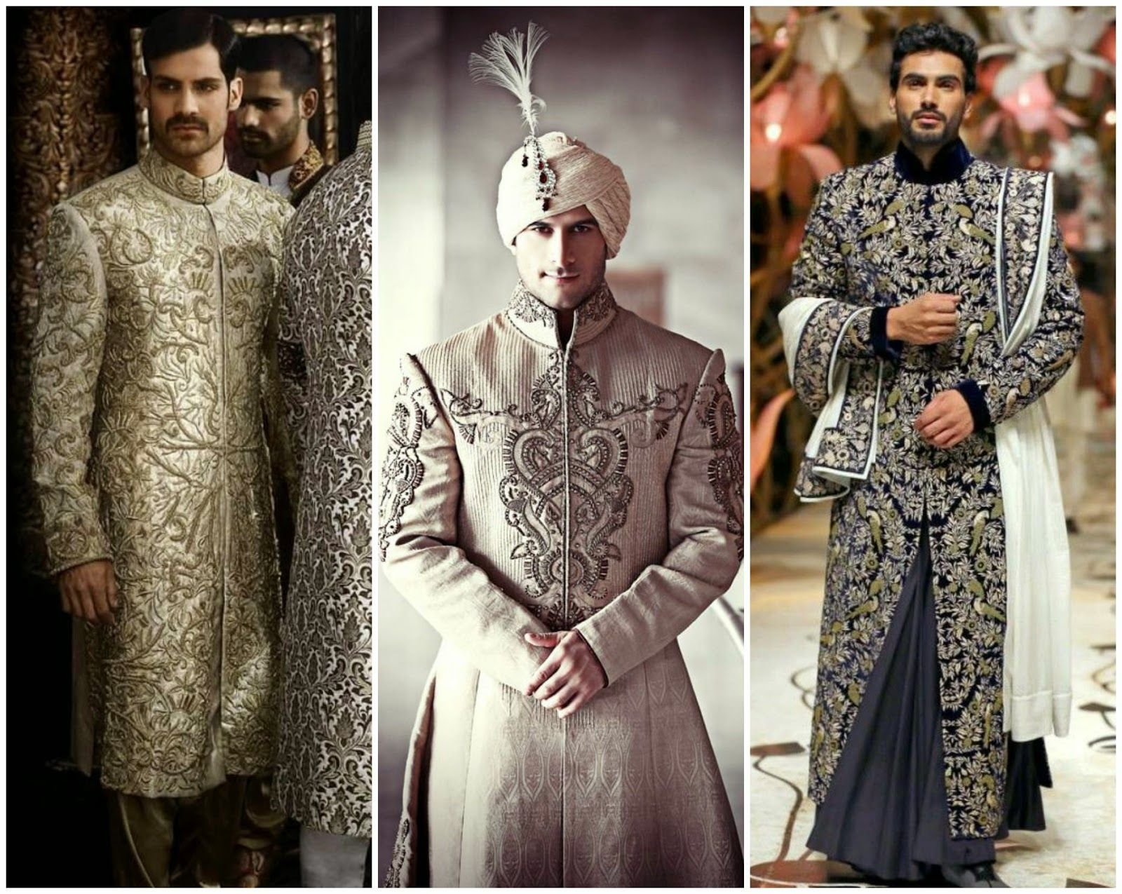 How To Choose The Best Wedding Sherwani The Most Preferred Outfits For Grooms In