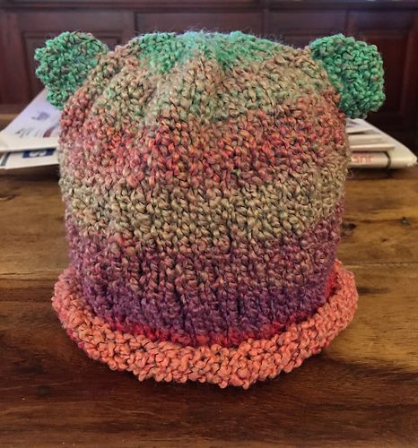 72a394156 chitweed's River Bear Hat | My Knitting Projects | Hats, Knitting ...