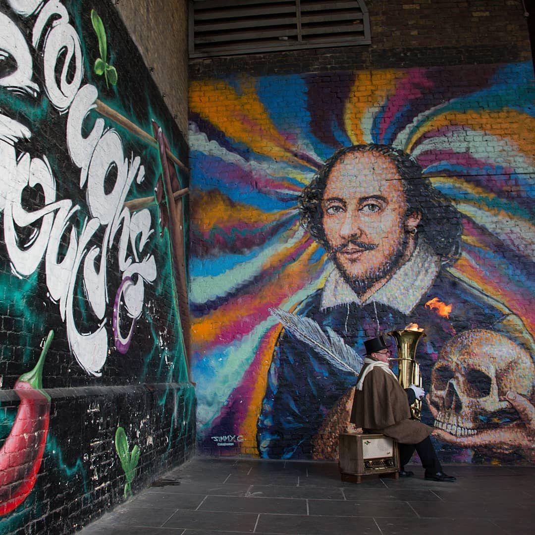 "ann_walker_photography_stroud on Instagram: ""Walking towards the iconic Borough Market , south of the River Thames 😌 #ig_myshot #graffitiart #graffiti #streetart #loves_london…"""