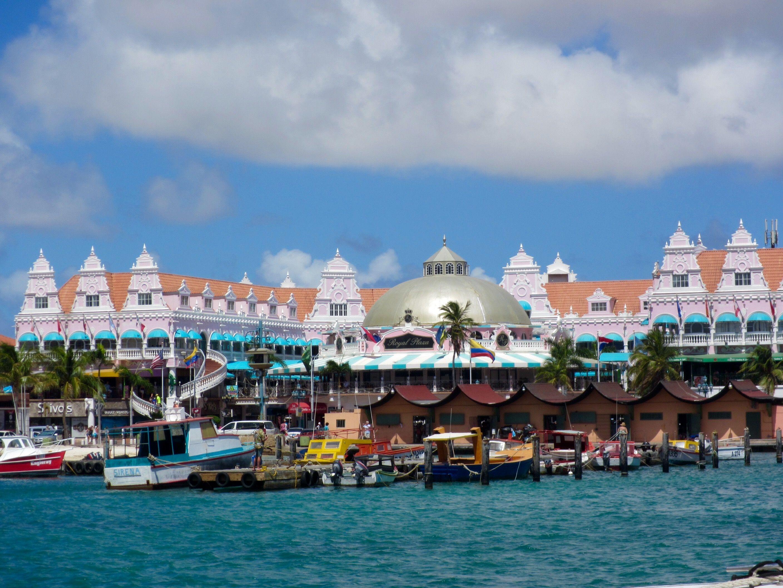 Oranjestad Aruba Taken From The Cruise Ship Dock Aruba - Cruise ships in aruba