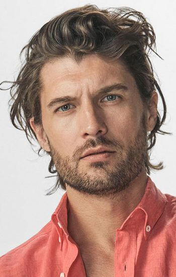 Long Hairstyle For Men 2018 Mens Hairstyles Pinterest