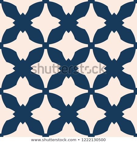Elegant texture in gothic style ornament background with curved shapes crosses grid net repeat tiles deep blue and beige color design for decoration also vector abstract ornamental seamless pattern rh pinterest