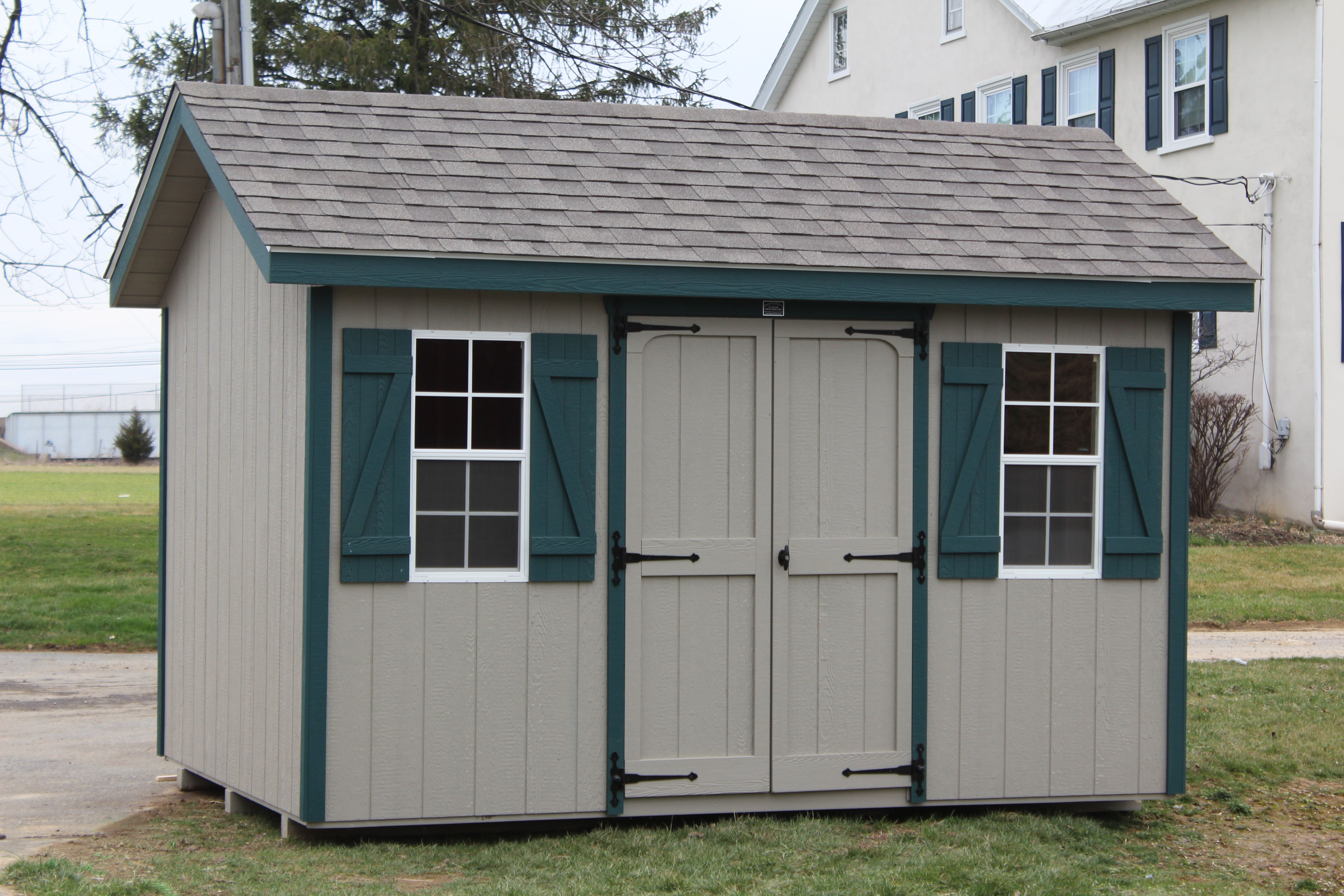 Best S4038 Sheds Unlimited Architectural Shingles High 400 x 300