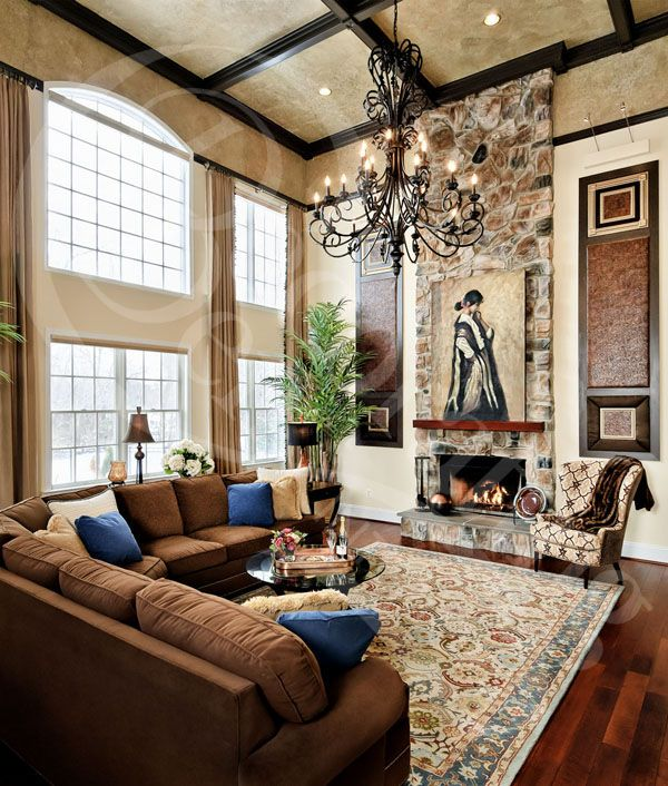 Brown Couch Living Room Design: Like The Rug Perfect Color Combo For What I Am Wanting To