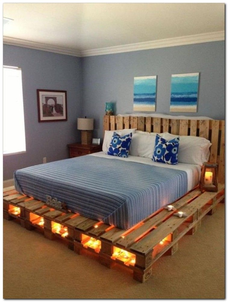 100 Ultimate Bed You Never Seen Before Pallet Bed With Lights