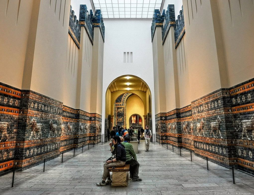 Pergamon Museum Ischtar Tor By Pingallery Pergamon Museum Pergamon Museum Island