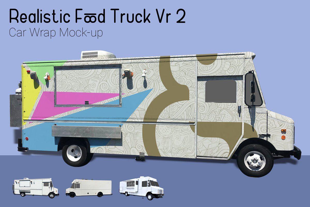 Food truck mockup vr2 food truck mocking used food trucks