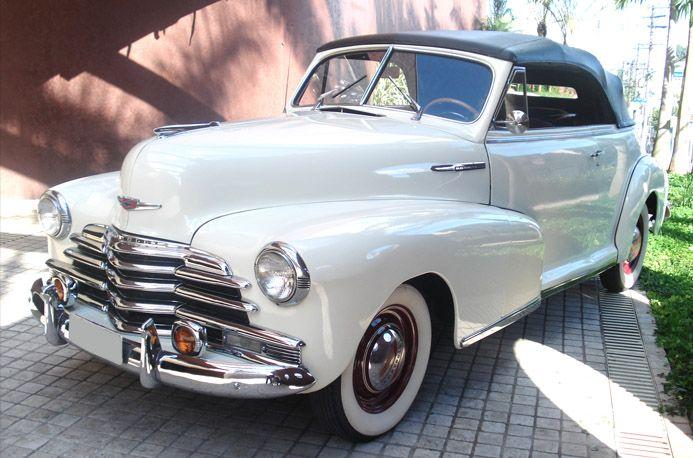 Super Chevrolet Fleetmaster 1947 « LL Carros Antigos – Aluguel de carros  IG51