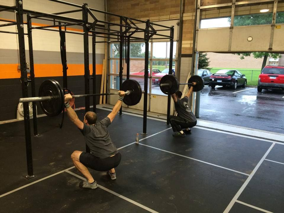 THE ALL MIGHTY OVERHEAD SQUAT