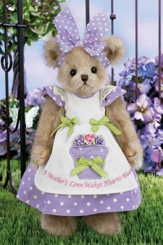 Bearington Bears | Bearington Bears Plush 'Mommy Bloominglove' 165307