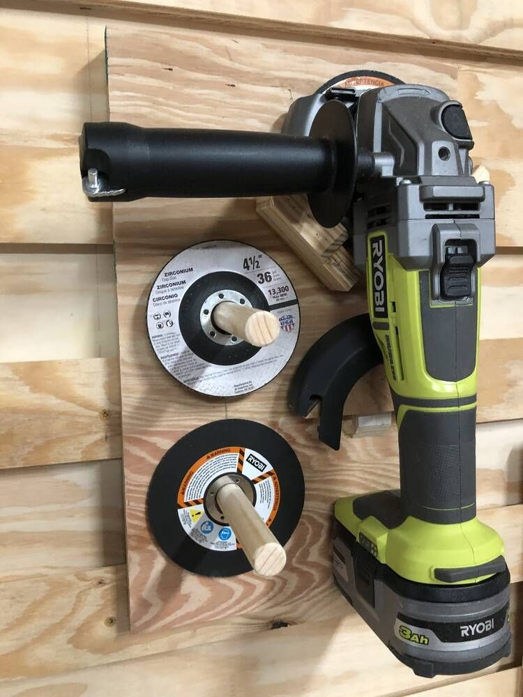 french cleat tool wall - RYOBI Nation Projects